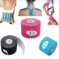 Alat Fitnes KINESIO TAPE 5M / Kinesiologi / Athletic Sports Elastic Ki