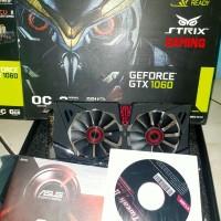 asus strix GTX 1060 6gb VGA Nvidia GeForce gtx1060 like new fullset