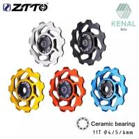 Pulley RD ZTTO Ceramic Bearing 11t Rear Derailleur Jockey Wheel