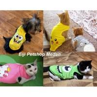 Baju Kucing Baju Anjing Pakaian Kucing Puppy Kitten Ukuran S