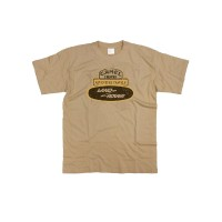 Kaos T-Shirt Motif Tulisan Graphic Camel Trophy Badge Land Rover Range