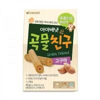 Ivenet Grain Friend Biscuit Snack Bayi 40gr - Sweet Potato