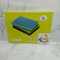 Notebook Cooling Pad / ooolingpad x850/N19 /kipas laptop/ coolingpad