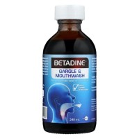 Betadine Gargle & Mouthwash 240ml (Singapore)