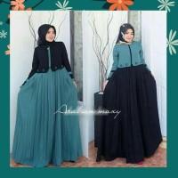 Baju gamis wanita terbaru Dress Muslim ARABIAN MAXI