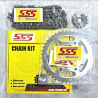 Gear Set SSS Megapro New / Chain Kit SSS / Standard Racing
