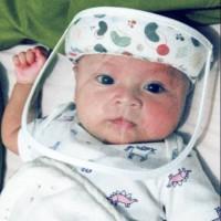 Faceshield baby newborn