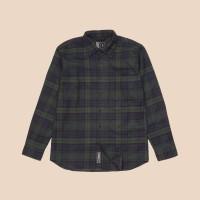 Kemeja Flanel Lengan Panjang Monochrome LS Woudy Shirt