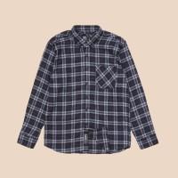 Kemeja Flanel Lengan Panjang Monochrome LS Wolky Shirt