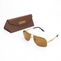 Lexon Aviator Sunglasses Golden