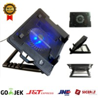 Cooling Pad Gaming Ergostand Kipas Pendingin Laptop Big Fan Cooler Pad