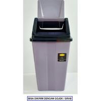 Tempat Sampah Besar - Tutup Ayun - Dust Bin 42 Liter   Alat Kebersihan