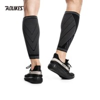 Aolikes 7760 Leg Calf Compression Sleeves - Betis Lari Sepeda - Black