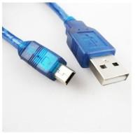Kabel USB male to Mini USB 5 Pin Kabel data USB hardisk eksternal 30cm