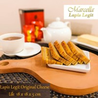 Kue Lapis Marcella Lapis Legit Original Cheese Size 18x18x5cm