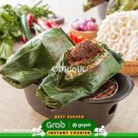 Nasi Bakar Rendang Ready to Eat