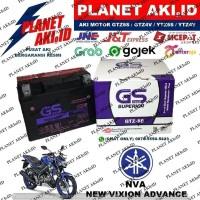 Aki Motor Yamaha NVA New Vixion Advance GTZ5S GS Y Accu Kering MF
