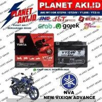 Aki Motor Yamaha NVA New Vixion Advance YTZ4V YUASA Accu Kering MF