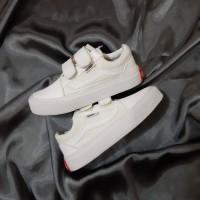 Sneakers Anak Vans Old Skool All White Sepatu Anak