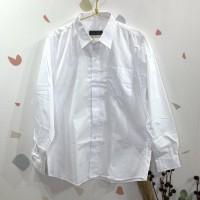 Pure white shirt/kemeja lengan panjang anak jusyco