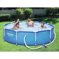 kolam renang anak jumbo bestway besar bulat 56408 portabel plastik