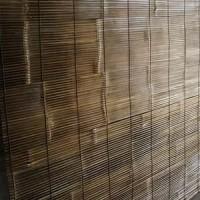 Promo !!! Murah Kerai Bambu Hitam 2 x 2 meter