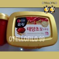 Gochujang Chung jung one /sambal pasta korea/hot pepper paste 500 gram
