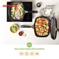 Happycall IH Synchro Double Pan Jumbo Grill