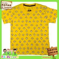 Baju/Kaos Anak Motif Minion Fullprint 1-10 th
