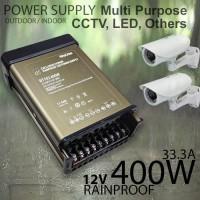 Power Supply CCTV 12V Indoor/Outdoor 33.3A 400W Bergaransi