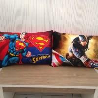 Bantal Boneka Superhero Jumbo Superman, caption AM Soft Yelvo