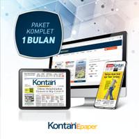 Kontan Epaper Komplet 1 bulan