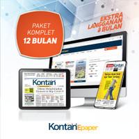 Kontan Epaper Komplet 12 bulan (Bonus 3 bulan)