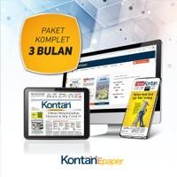 Kontan Epaper Komplet 3 bulan