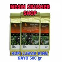 King Gayo Kopi Luwak 100gram Per 5 Pack Powder Or Bean
