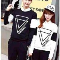y3 - cp baju couple cewek cowok pasangan korea
