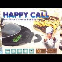 Cetakan kue pukis 12 lubang Happy Call Original