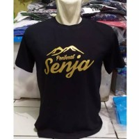 Kaos t-shirt baju penikmat senja pendaki gunung Indonesia