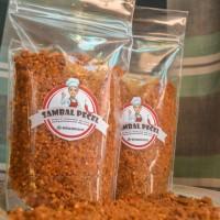 Sambal pecel dengan kacang sangrai asli madiun (200gram)