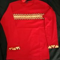 baju tapis Lampung lengan panjang