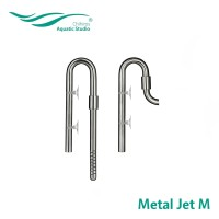 Chihiros metal jet M (13mm) Metal Pipe Aquascape Stainless