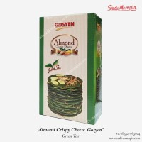 Almond Crispy Cheese Gosyen - Green Tea | Oleh Oleh Surabaya