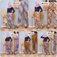 celana jogger batik wanita premium seri 1