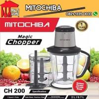 Chopper Blender Mitochiba CH200 kapasitas 2 Liter - Resmi