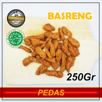 BASRENG / BASO GORENG / BASRENG KILOAN 250 Gram - Pedas