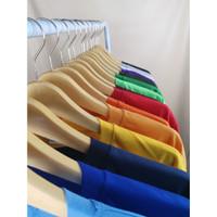 Kaos Polos Oblong PE Unisex Pria Wanita All Size
