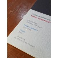 Kertas A3+ Fine Paper Paperina Royal Sndnce Felt Ultr Wht 104gsm 50LBR