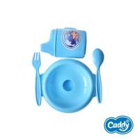 Caddy Alat Makan Bayi Set Mangkok Tutup - Baby Cutlery