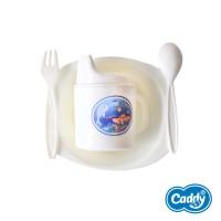 Caddy Alat Makan Bayi Set Isi 5 Pcs - Baby Cutlery