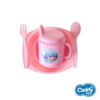Caddy Alat Makan Bayi Set Isi 6 Pcs - Baby Cutlery